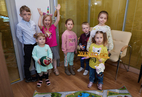 Английский в Новосибирске для детей 4 — 5 лет